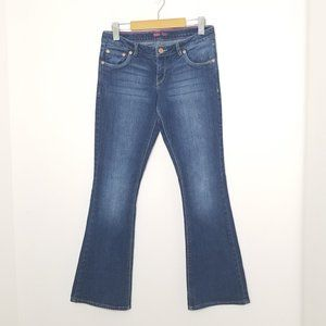 Levis | Skinny Flare Dark Wash Denim Jeans 16
